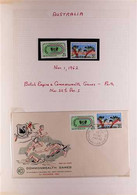 SPORT 1950s-2000s AUSTRALIA Collection Of Never Hinged Mint Stamps, Covers, Cards, Postal Stationery And Other Items, Al - Non Classificati