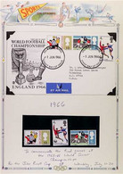 SPORTS 1966-96 GREAT BRITAIN COLLECTION - Anextensive Collection Of Stamps, Covers & Postcards, Including Complete (chi - Non Classificati