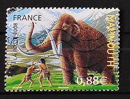 FRANCE 2008 - Faune Préhistorique Le Mammouth - N°4178 - Usados