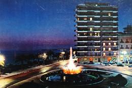 Cartolina - Taranto - Fontana Monumentale ( Notturno ) - 1964 - Taranto