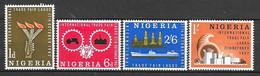 Nigeria N° 130/33 Yvert NEUF * - Nigeria (1961-...)