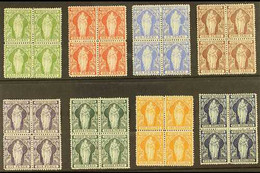 1899 Complete Set, SG 43/50, In FINE MINT BLOCKS OF FOUR. Fresh And Attractive! (8 Blocks = 32 Stamps) For More Images,  - British Virgin Islands