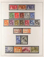 1937-1969 COMPLETE MINT A Delightful COMPLETE BASIC RUN, SG 107/239. Very Fine Condition - Mostly Never Hinged Including - British Virgin Islands