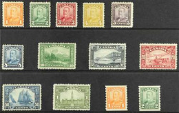1928-29 PICTORIAL SET PLUS COIL SET Presented On A Stock Card, SG 275/87, Very Fine Mint (13 Stamps) For More Images, Pl - Non Classés