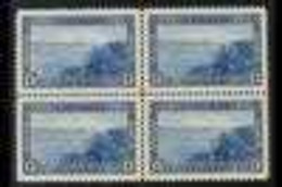 1937-38 13c Blue Halifax Harbour, SG 364, NHM BLOCK Of 4. (4 Stamps) For More Images, Please Visit Http://www.sandafayre - Non Classés