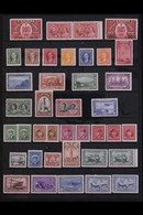 1937-52 VERY FINE MINT & NHM KGVI COLLECTION Presented On Stock Page Offering A Highly Complete Postal Issues Collection - Non Classés