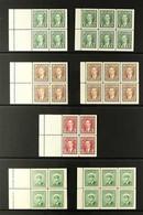 BOOKLET PANES 1937-52 KGVI MINT / NHM COLLECTION On Stock Pages, Includes 1937-8 Complete Set, 1942-8 War Effort Complet - Non Classés