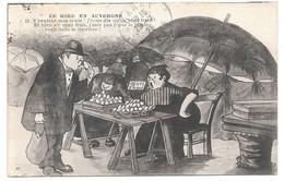 LE RIRE EN AUVERGNE - N° 12- Y Sentent Mes Oeufs ! ... La Poule - Ed. Beguin - 1925 - Parapluie Marché - Auvergne