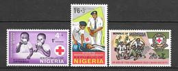 Nigeria N° 203/05 Yvert NEUF * - Nigeria (1961-...)