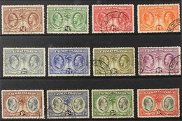 1932 Centenary Of The Assembly Of Justices & Vestry Complete Set, SG 84/95, Fine Used (12 Stamps) For More Images, Pleas - Cayman Islands