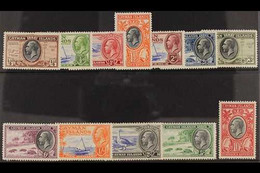 1935 Pictorial Complete Set, SG 96/107, Very Fine Mint (12 Stamps) For More Images, Please Visit Http://www.sandafayre.c - Cayman Islands