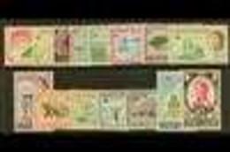 1962-4 QEII Pictorial Definitive Complete Set, SG 165/79, Never Hinged Mint (15 Stamps) For More Images, Please Visit Ht - Iles Caïmans