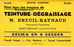 Buvard Peinture Teinture Degraissage Breuil Raynaud Saint Bonnet Le Chateau Travaux Travail Entrerprise - T