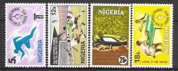 Nigeria N° 277/80 Yvert NEUF * - Nigeria (1961-...)