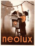 Buvard Ampoule Lumiere Neolux Enfant - Electricity & Gas
