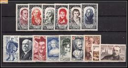 1950 Année Complète Neufs ** Cote 105 Euros PARFAIT état TTB - 1950-1959