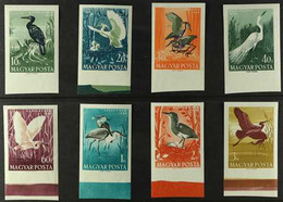 1959 Water Birds Complete Set IMPERF, Michel 1593B/1600B, Never Hinged Mint. (8 Stamps) For More Images, Please Visit Ht - Unclassified