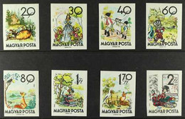 1960 Fairy Tales Complete Set, Michel 1718B/25B, Never Hinged Mint, (8 Stamps) For More Images, Please Visit Http://www. - Unclassified