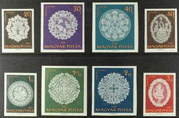 1960 Halas Lace Complete Set IMPERF, Michel 1660B/67B, Never Hinged Mint. (8 Stamps) For More Images, Please Visit Http: - Unclassified
