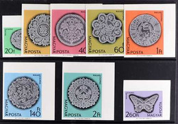 1964 Halas Lace Complete Set IMPERF, Mi 2000B/07B, Never Hinged Mint. (8 Stamps) For More Images, Please Visit Http://ww - Unclassified