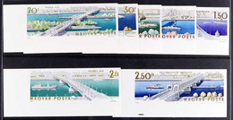 1964 Opening Of Reconstructed Elizabeth Bridge Complete Set IMPERF, Mi 2071B/77B, Never Hinged Mint. (7 Stamps) For More - Unclassified