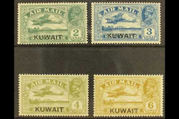 1933-34 Air Set, SG 31/34, Fine Mint. (4) For More Images, Please Visit Http://www.sandafayre.com/itemdetails.aspx?s=602 - Kuwait