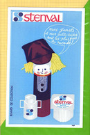BUVARD & Blotting Paper : Produits Laitiers STENVAL Yaourt Fromage Lait (Steenvoorde ) - Dairy