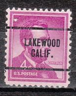 Locals USA Precancel Vorausentwertung Preo, Locals California, Lakewood 259 - Precancels
