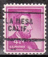 Locals USA Precancel Vorausentwertung Preo, Locals California, La Mesa 703 - Precancels
