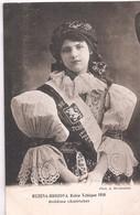 CPA - RUZENA BRAZOVA - Reine Tchèque 1910 - (Bohême) - Czech Republic