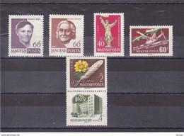 HONGRIE 1960 Yvert 1360-1364 NEUF** MNH - Unused Stamps