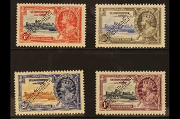 """1935 Silver Jubilee Set, Perf. """"SPECIMEN"""", SG 61/64s, Superb Never Hinged Mint. (4) For More Images, Please Visit Http:/ - St.Kitts And Nevis ( 1983-...)"""