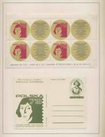168 Entier Postal Stationery Pologne (Poland) 73 ** Copernic Copernicus Copernico Espace (space) - Europa