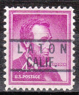 Locals USA Precancel Vorausentwertung Preo, Locals California, Laton 818 - Precancels
