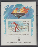 MADAGASCAR  IMPERF  OLYMPIC  SARAJEVO  1984  **MNH  Réf  23 - Inverno1984: Sarajevo