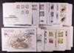 1953-2001 FIRST DAY COVER COLLECTION. All Different Collection Of Illustrated First Day Covers In A Small Box, Includes  - Tristan Da Cunha