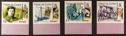 2007 ARCHIVE IMPERFORATE Centenary Of Scouting Complete Set As SG 884/887, B.D.T Archive Imperforates, Never Hinged Mint - Tristan Da Cunha