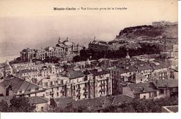 Monaco Monte Carlo Vue Generale Prise De La Corniche CPA Maison Batiment Edifice Histoire - Monte-Carlo