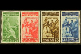 1935 25c To 1.25L Juridical Congress, Top Four Values, Sassone 43/6, Mi 47/50, Superb Never Hinged Mint (4 Stamps). For  - Unclassified