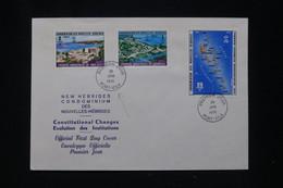 NOUVELLES HÉBRIDES - Enveloppe FDC En 1976 - Institutions - L 95534 - FDC