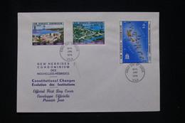 NOUVELLES HÉBRIDES - Enveloppe FDC En 1976 - Institutions - L 95535 - FDC