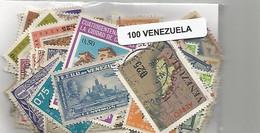 Lot 100 Timbres Du Venezuela - Venezuela