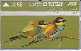 TARJETA DE ISRAEL DE UNOS ABEJARUCOS (BIRD-PAJARO) ABEJARUCO-BIRD-PAJARO - Non Classificati