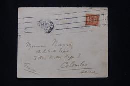 NOUVELLES HÉBRIDES - Enveloppe De Port Vila Au Départ De Saigon Pour La France En 1934 ( Par Voie Maritime ) - L 95538 - Brieven En Documenten