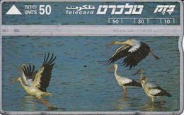 TARJETA DE ISRAEL DE UNAS CIGUEÑAS (BIRD-PAJARO) BIRD-PAJARO-CIGUEÑA - Non Classificati