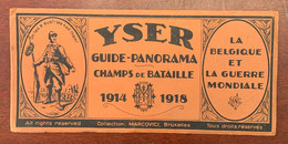 ⭐ Guerre De 14 / 18 - Yser Guide Panorama Des Champs De Bataille - Marcovici - 1914 / 1918 ⭐ - Historical Documents