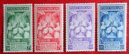 Kroning Paus Pius XII Couronnement Du Pape Pie XII 1939 Mi 80-83 Yv 86-89 Ongebruikt/ MH VATICANO VATICAN VATICAAN - Unused Stamps