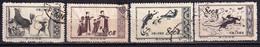 China 1952 Glorious Motherland Dunhuang Murals 1st Series 4v CTO - Usados