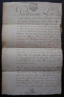 La Rochelle Rochefort 1771 Procuration Du Capitaine Mollier Au Sieur Badin Avant Son Départ Pour île De Saint Domingue. - Manuscripts
