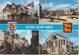 CALVADOS : Lion-sur-mer : Jeux, Rue, Bar, Tabac - Altri Comuni